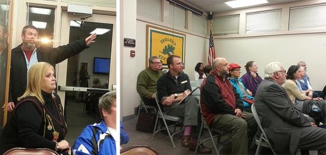 LFPL held a community meeting to discuss the planned South-Central Regional Library. (Elijah McKenzie / Broken Sidewalk)