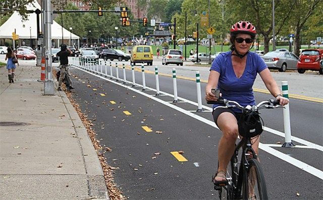 Schenley Drive, Pittsburgh. (Courtesy PeopleForBikes)