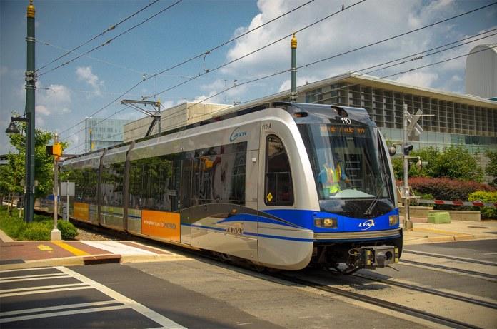 Charlotte's streetcar system. (Richard Gallagher / Flickr)