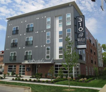 A photo of the completed 310 at Nulu apartments. (Courtesy 310 at Nulu)