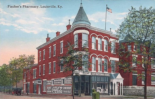 Fischer's Pharmacy, Louisville, Ky. (Courtesy Tipster)