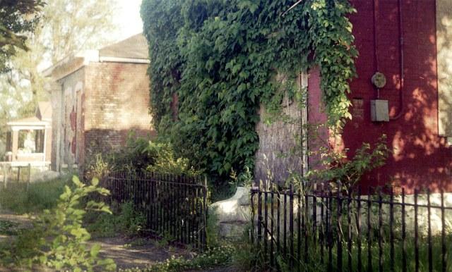 A vacant property along Rowan Street.