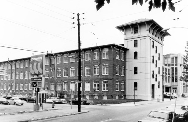 Bradford Mill in 1981. (Courtesy National Register of Historic Places)
