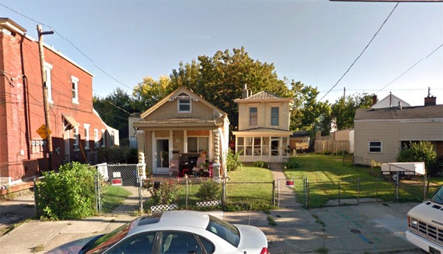 Two houses on East Washington Street will be rehabbed. (Courtesy Google)