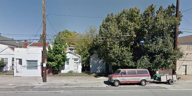 These buildings on East Main Street will see new life. (Courtesy Google)