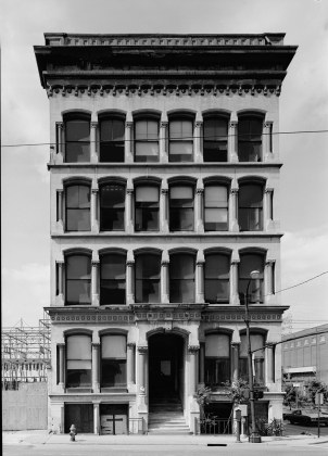 The Board of Trade building, dating to 1873. (Courtesy Library of Congress)