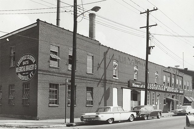 Part of Hillerich & Bradsby's original Smoketown headquarters. (Courtesy H&B)