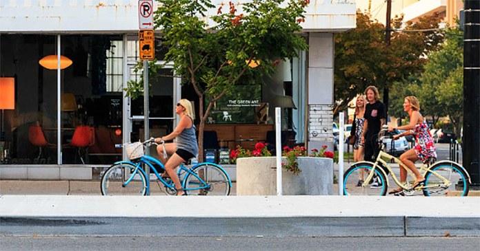 The new 300 South, a.k.a. Broadway, in Salt Lake City. (CourtesySalt Lake City)