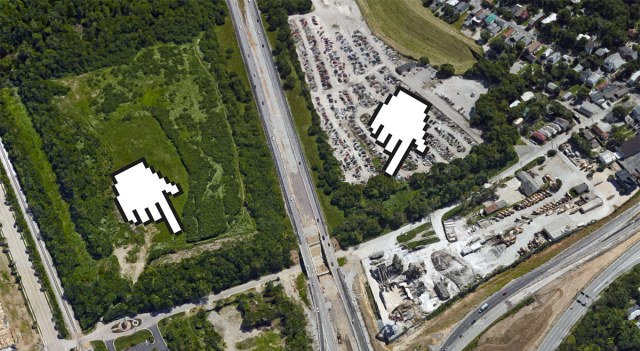 Fragment storage along Frankfort Avenue. (Courtesy Google)