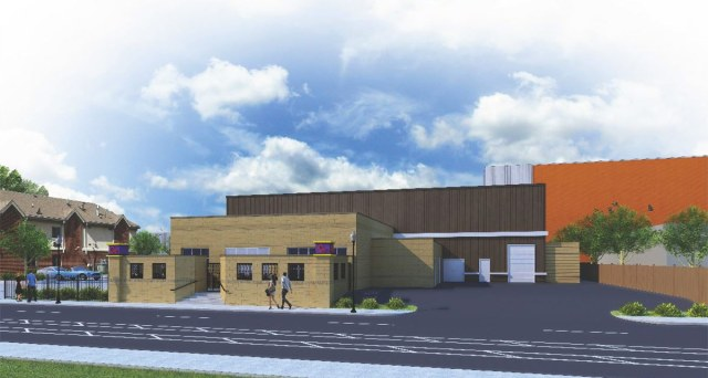 Rendering of the C2 venue under construction on Breckinridge Street. (Courtesy VU Guest House)