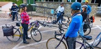 A recent Bicycling for Louisville event. (Courtesy B4L)