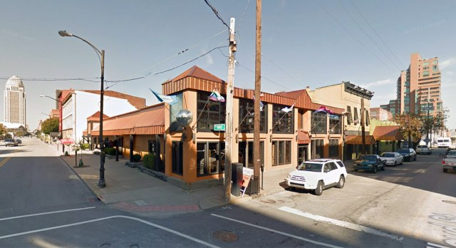 The Connection is a familiar site at Floyd and East Market streets. (Courtesy Google)