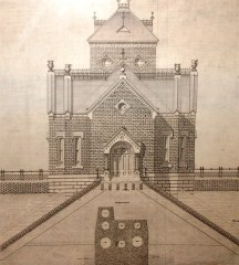 A drawing of the Gatehouse.