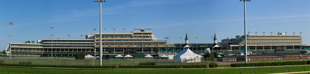 Churchill Downs has steadily grown around its Twin Spires. (Brent Halstead / Flickr)