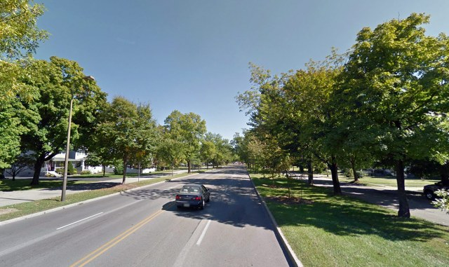 A view of Southern Parkway, Louisville's only true Boulevard. (Courtesy Google)