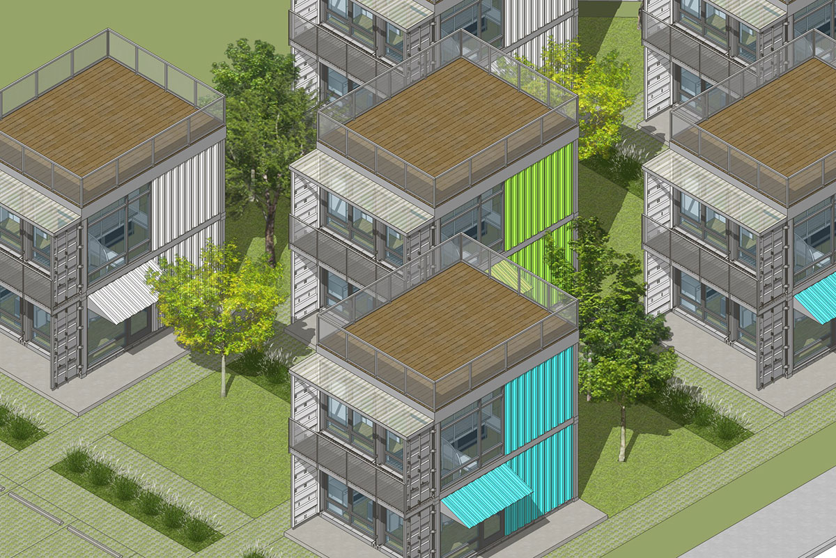Container Apartments interview: rick kueber on the schnitzelburg container homes