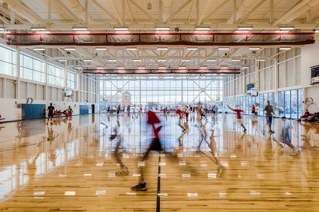 University of Louisville Student Recreation Center. (Courtesy AIA Kentucky)