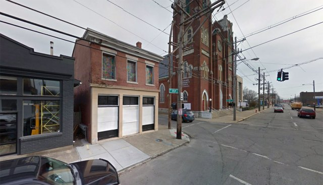 1155 South Shelby Street is being renovated into office and restaurant use. (Courtesy Google)
