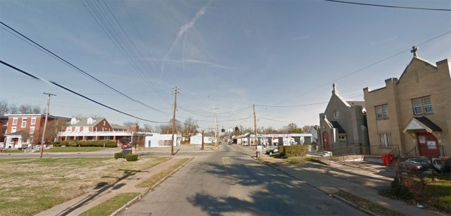 Looking north along 26th Street. (Courtesy Google)