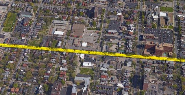 Oak Street. (Image courtesy Google)