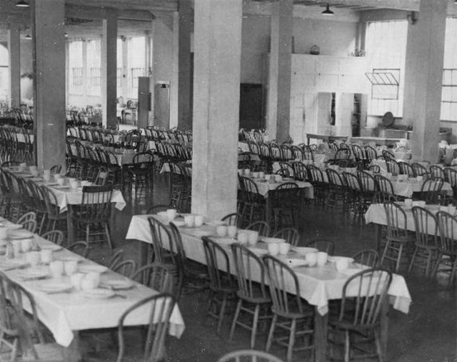 Dining room at Central State Hospital, circa 1933. (Courtesy UL Archives - Reference)
