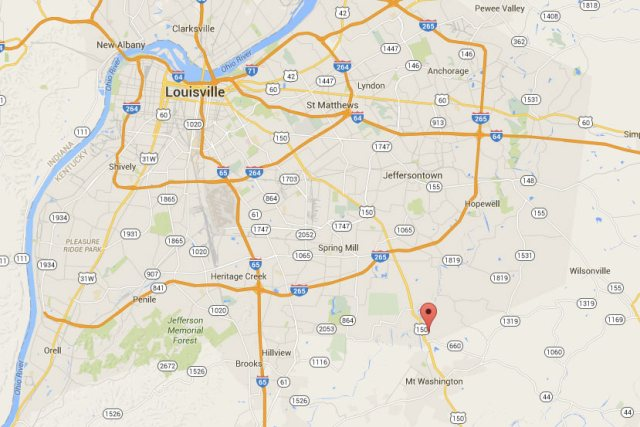The location of the 363-acre Oakland Hills subdivision, being developed by 21st Century Parks. (Courtesy Google)