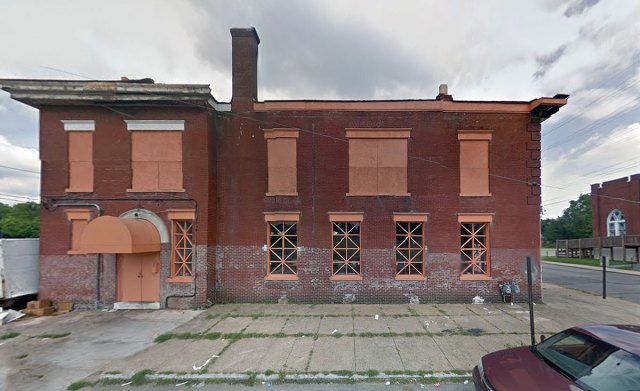 The Grand Avenue side of the building. (Via Google)