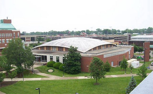 Crawford Gym in 2010. (UL Photo Archives - Reference)