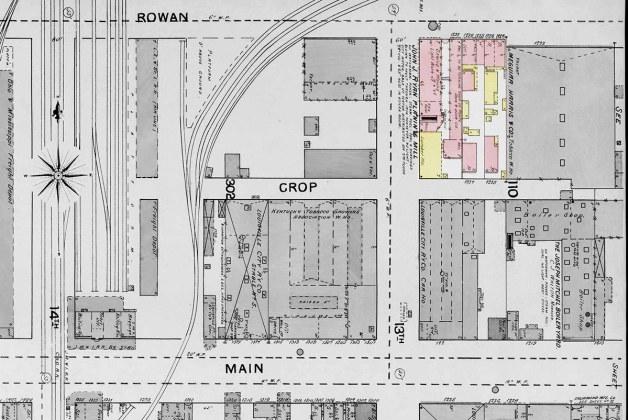 The area in 1892. (Courtesy KYVL)