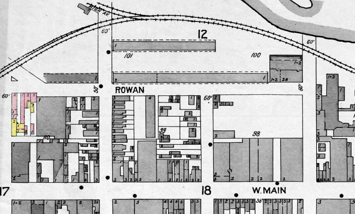 The area in 1906. (Courtesy KYVL)