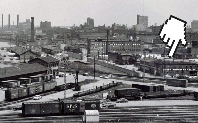 The Interapt complex in the middle of the 20th century. (Courtesy WDC)