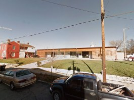 Hyland Glass on Washington Street in Butchertown. (Google Street View)