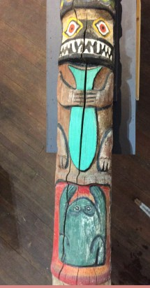 Totem Pole Broken Spoke Fine Art