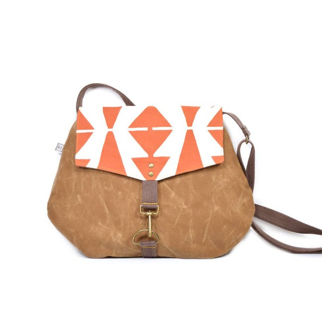 handmade, purse, satchel, waxed canvas