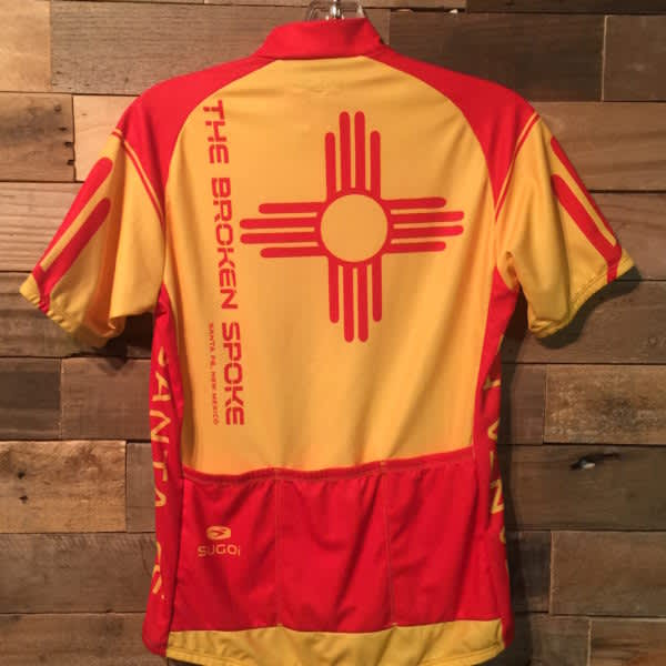 Men's Sugoi Broken Spoke Short Sleeve Jersey Zia