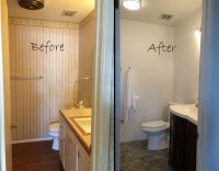 $1,000 Bathroom Remodel (almost) Complete!  BrokenTarted