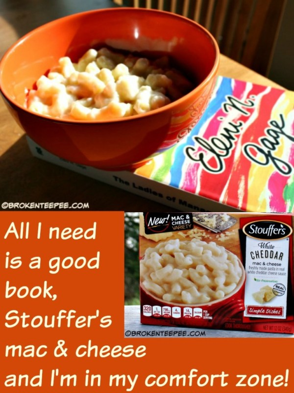 A Good Book and Stouffer39s Mac and Cheese are All I Need