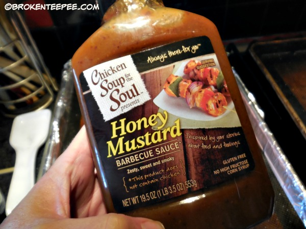 Chicken Soup for the Soul Honey Mustard Barbecue Sauce