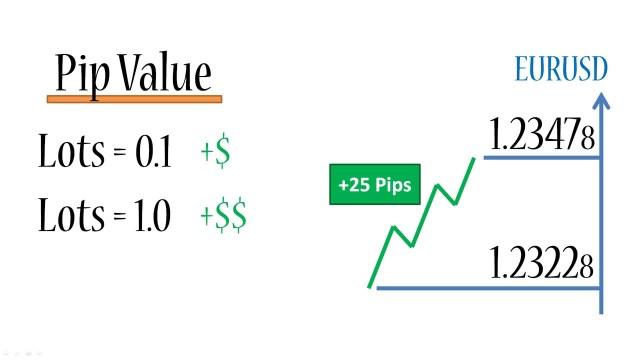 Menghitung nilai pip