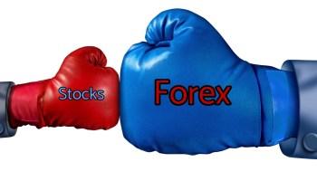 Apakah perbedaan pasar saham dan forex?