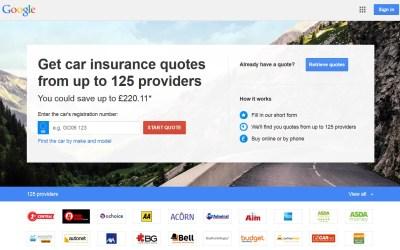 Google Auto Insurance. Again.