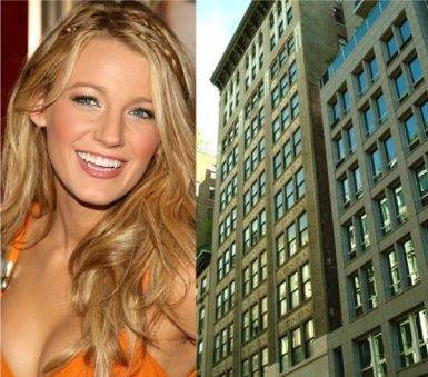 Blake Lively - 140 W. 22nd St.
