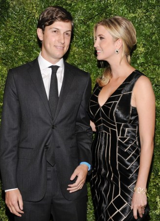 Jares Kushner and wife Ivanka Trump