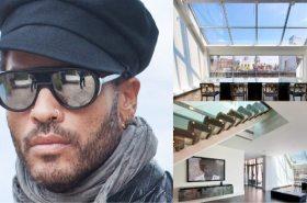 Lenny Kravitz's SoHo Penthouse at 30 Crosby Street   Image Source: Luxist