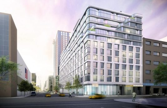 Rendering of 572 Eleventh Avenue.