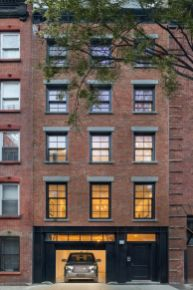 Lady Gaga recently rented this West Village townhouse while recording her new album. PHOTOS: Evan Joseph/Compass