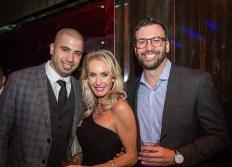 (L-R) Danny Castillo, Judy Stepeck, Rocco Hart