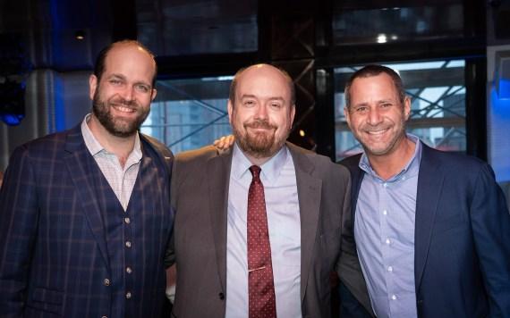 (L-R) Eric Hamm, Brian Totin, Gary Malin