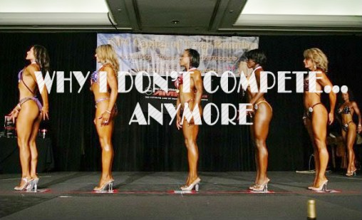 Broke single mom fitness why I don't compete in bodybuilding competitions