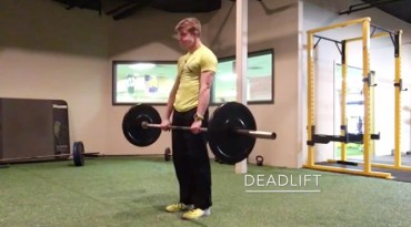 Posterior Chain Exercises - Deadlift